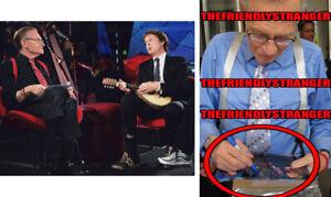 LARRY KING signed Autographed 8X10 PHOTO e EXACT PROOF - RIP CNN Live Host COA