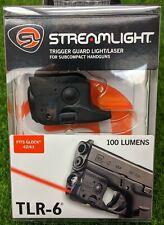 Streamlight 69270 TLR-6 Tactical LED Light & Red Laser for Glock 42/43