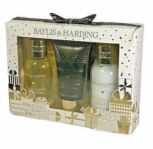 Baylis Harding England Gift Pack Body Wash Lotion Set Sweet Mandarin Grapefruit
