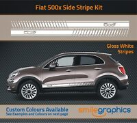 Fiat 500x Stripe Kit Stickers decals - Other colours available