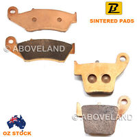 FRONT REAR Sintered Brake Pads for HONDA CRF 250 X4/X5/X6/X7 2004 2005 2006 2007