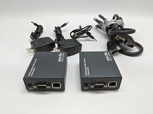 MiniCom Digital Signange Cat5 AV Display, /W Cables, Adapters: