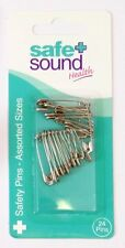 2 x Safe and Sound Safety Pins Assorted Sizes