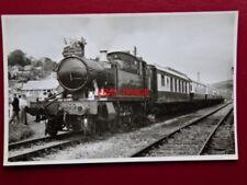 PHOTO  GWR CLASS 45XX 2-6-2T LOCO NO 4555  PULLMAN COACHES