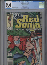 RED SONJA V3 #4 NM 9.4 CGC HIGHEST 1 OF 1 CANADIAN PRICE VARIANT WHITE PAGES