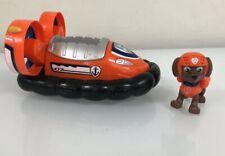 Paw Patrol Zuma's Hovercraft, Vehicle and Figure HTF / EUC