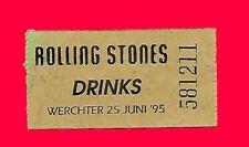 ROLLING STONES - DRINKS - WERCHTER - 25/06/95