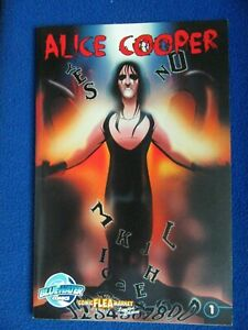 ALICE COOPER  LIMITED EDITION   BLUEWATER COMICS   RARE