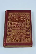 Vintage Book -  THE GOLDEN STAIRCASE Poems and Verses for Child Louey Chisholm