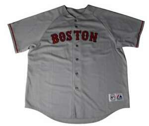 DAVID ORTIZ SIGNED BOSTON RED SOX AWAY JERSEY INSCRIBED BC COLLECTIBLES PC1043