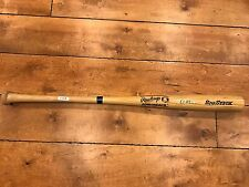 "AL KALINE signed 34"" Rawlings Adirondack Big Stick Baseball Bat Detroit Tigers"