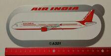 Aufkleber/Sticker: Airbus A321 / Air India (040317100)