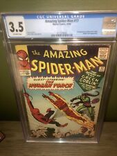 Amazing Spider-Man #17 CGC 3.5 2nd appearance Green Goblin Steve Ditko 1964 Nice