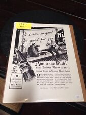 "Collectible 1937 Hires Rootbeer ""Ain't It The Truth"" Ad"