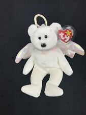 Original Retired TY Beanie Baby Halo the Angel Brown Nose Mint Condition 1998