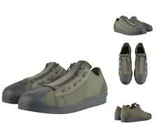 AUTHENTIC YOHJI YAMAMOTO Y-3 OLIVE SUPER ZIP TRAINERS SNEAKERS SHOES. UK 7 (41)