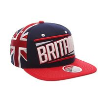 GREAT BRITAIN BRITISH ZEPHYR VICTORY SNAPBACK FLAT VISOR ADJUSTABLE HAT/CAP NEW