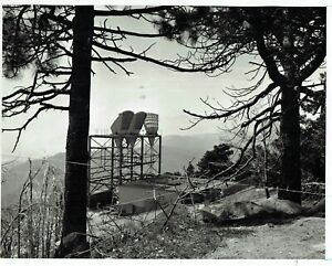 AT&T PHOTO + 1957 + STRAWBERRY PEAK MICROWAVE RELAY STATION + SAN BERNADINO