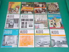 1966 Audio Magazines, Complete Year, 12 Issues