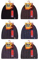 Heat Holders - Mens HEAT WEAVER Thermal Winter Hat, 6 colours