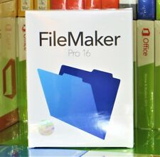 BRAND NEW & SEALED FILEMAKER PRO 16 HL2B2ZM/A 1 MAC/1 PC 32-64 BIT 100% GENUINE