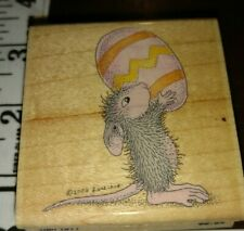 House mouse, this eggs for you,colorful, stampabilities,C57,rubber, wood