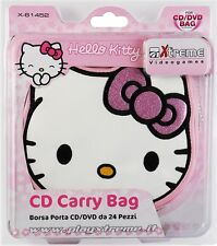 HELLO KITTY cd carry bag borsa porta cd 24 posti XTREME SANRIO