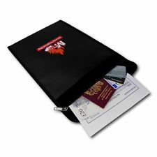 Fireproof Safe UL94 Certified & IPX4 Rated A4 Document Wallet 380mm x 285mm