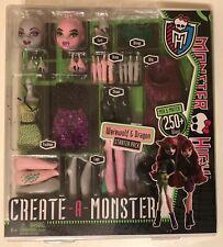 Werewolf & Dragon Create-A-Monster * 2011 Monster High * Accessories * Nice Box