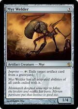 Mirrodin Besieged ~ MYR WELDER rare Magic the Gathering card