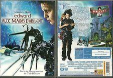 DVD - EDWARD AUX MAINS D' ARGENT avec JOHNNY DEPP / TIM BURTON / COMME NEUF