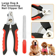 Pet Dog Cat Nail Clippers Professional Toe Trimmer Clipper Grooming Steel Tool