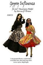 """AM121 Gypsy Influnce pattern for 22"""" American Model by Tonner"""