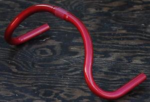 Red Fixie Track Bike Drop Bar Handlebars Fixed Gear Racing Single Speed Bicycle