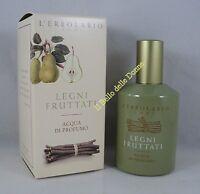 ERBOLARIO De agua perfume MADERAS CON SABOR A FRUTA 50 ml mujer eau parfum