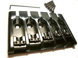 göldo 3D Bass-Bridge 5-string schwarz