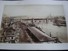 Old photograph Clyde from the Sailor's Home Glasgow c1890s