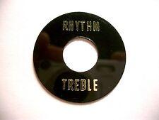 Göldo Rhythm / Treble Plate Unterleg-Platte pour Interrupteur à Bascule Noir