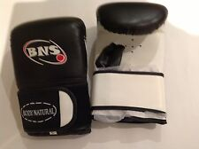 BOXING  MITTS -BLACK LEATHER-