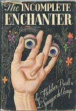 Fiction:THE INCOMPLETE ENCHANTER by Fletcher Pratt&L.Sprague de Camp. 1941. 1st