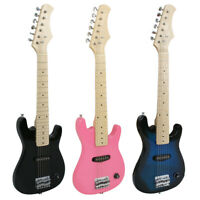 """30"""" Mini Electric Guitar For Starter Beginner with GigBag & Strap Stable Play"""