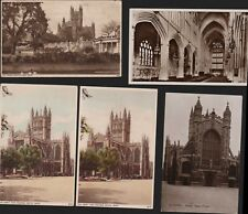 BATH ABBEY  Vintage Postcards RN.557
