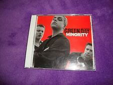 GREEN DAY cd single MINORITY pro-cd-100332 free US shipping