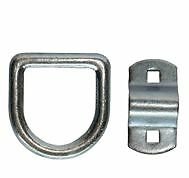 """38-DR1 3/8"""" Bolt On D-Ring From B/A Products"""