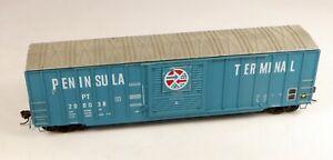 Accurail 50' Box Car Peninsula Terminal #200038 No Box 1/87 HO Scale