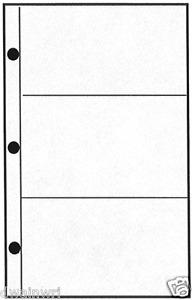 Form106 Double-sided Stamp Dealer Display Page for Form 102 Cards - Pkg of 100