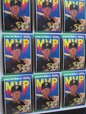 Andy Van Slyke – 1989 Donruss MVP # BC-10 – 25 Card Lot  - - - CHECK IT OUT!!!