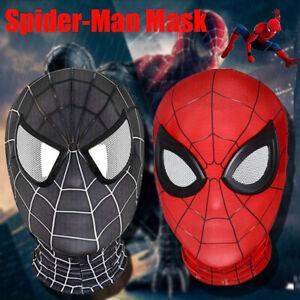 Halloween Cosplay Avengers Marvel Spider-Man Mask Spiderman  Costume Masks Props