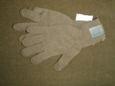 Coyote Brown wool knit glove inserts SIZE Medium NOS w/ tags USMC Marine Corps