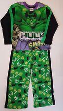 The Incredible Hulk Boys Avengers Hulk Pyjamas Ages 5 - 6 Years BNWT 100% Cotton